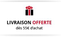 Livraison offerte dès 55€ d'achat
